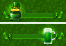 St.Patricks Day background Stock Photos