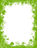 St. Patricks day background / border Royalty Free Stock Photo