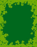St. Patricks day background / border Stock Photos