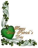 St Patricks Day Background Border Royalty Free Stock Image