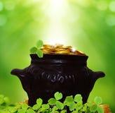 St Patricks day background Royalty Free Stock Photos