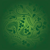 St. Patricks day background in green colors Stock Photography