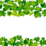 St. Patricks day background in green colors Royalty Free Stock Photos