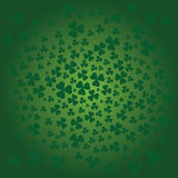 St. Patricks day background in green colors Royalty Free Stock Images