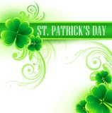 St. Patricks Day Background. Vector illustration. EPS 10 Stock Images
