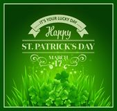 St. Patricks Day Background. Vector illustration. EPS 10 Vector Illustration