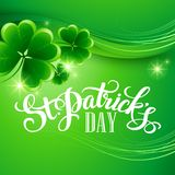St. Patricks Day Background. Vector illustration. EPS 10 Stock Image