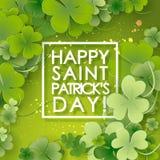 St Patricks Day background. Royalty Free Stock Image