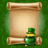 St.Patricks Day background Stock Photo