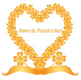 St patricks day banner Royalty Free Stock Image
