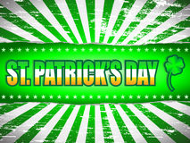 St Patricks Day Banner Royalty Free Stock Photography