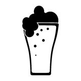 St patricks day beer pictogram Stock Photography
