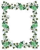 St Patricks Day border royalty free illustration