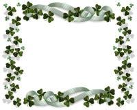 St Patricks Day Border stock images