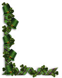 St Patricks Day Border  Stock Photos