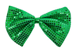 St. Patricks Day Bow tie Stock Images