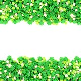 St Patricks Day candy frame Stock Image