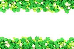 St Patricks Day candy frame Stock Photography