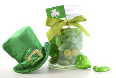 St Patricks Day Candy Royalty Free Stock Photos