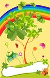 St.patricks day card Stock Images