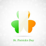 St. Patricks Day Card Royalty Free Stock Photography