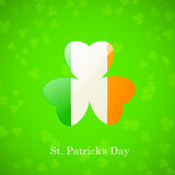 St. Patricks Day Card Royalty Free Stock Images