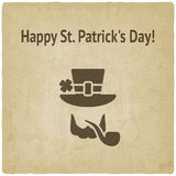 St. Patricks Day card Stock Photos
