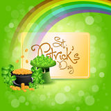 St. Patricks Day Card Royalty Free Stock Photo