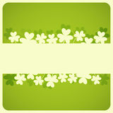 St.Patricks Day. Card with Place for Text. Illustration stock illustration