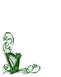 St Patricks Day Celtic Harp Royalty Free Stock Images