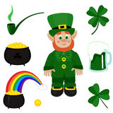 St. Patricks Day clip-art Stock Photo