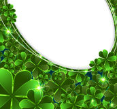St. Patricks Day clover Stock Images