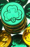 St Patricks Day coins Stock Photos