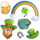 St Patricks day collection 3 royalty free illustration