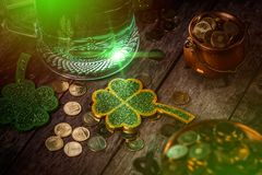 St Patrick`s day concept royalty free stock images