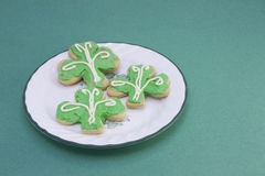 St Patricks Day Cookies Stock Photos