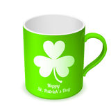 St. Patricks Day Cup Stock Photography