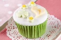 St patricks day cupcake Royalty Free Stock Photos
