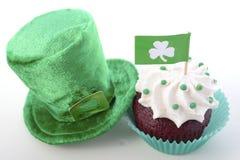 St Patricks Day Cupcakes Stock Photo