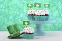 St Patricks Day Cupcakes Stock Photos