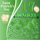 St. Patricks Day. Royalty Free Stock Photos