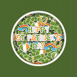 St patricks day decoration Royalty Free Stock Images