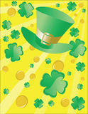 St patricks day design Royalty Free Stock Photography