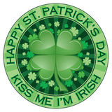St. Patrick's Day Design Royalty Free Stock Photo
