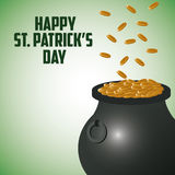 St Patricks day design Royalty Free Stock Photos