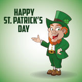 St Patricks day design Royalty Free Stock Photos