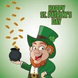 St Patricks day design Stock Photo