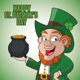 St Patricks day design Royalty Free Stock Images