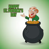 St Patricks day design Royalty Free Stock Image