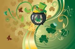 St Patricks Day Design Royalty Free Stock Photography